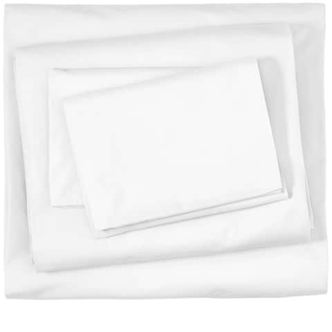 Bare Home 100% Organic Cotton Sheet Set - Casual & Relaxed Twill Weave - Comfortable & Breathable