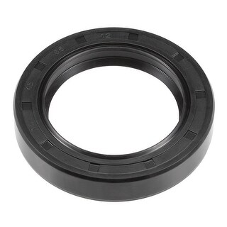 Oil Seal, TC 45mm x 65mm x 12mm, Nitrile Rubber Cover Double Lip - 45mmx65mmx12mm