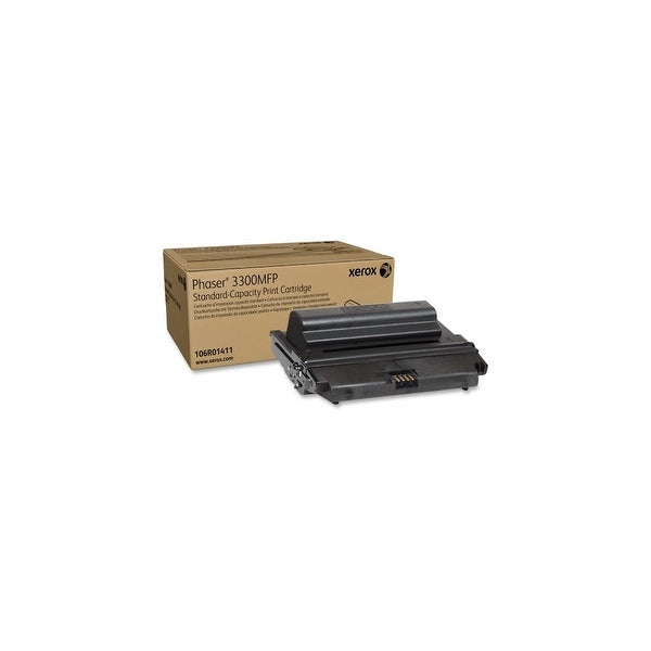 Xerox 106R01411 Xerox Black Standard Capacity Toner Cartridge - Black - Laser - 4000 Page - 1