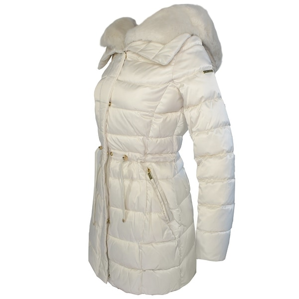 Laundry by Shelli Segal Womens Faux Fur Jacket