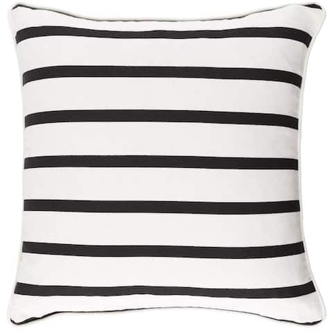 Decorative 18-inch Easy Down or Polyester Filled Throw Pillow