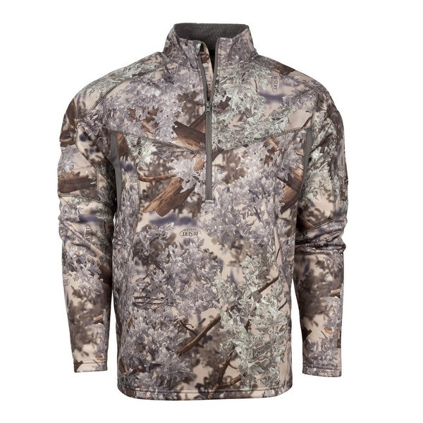 462c798d21e41 Shop King's Camo Hunter Series 1/4 Zip Pullover Desert Shadow - Free  Shipping Today - Overstock - 23613105