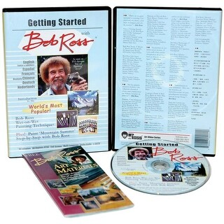 Oil Painting - Getting Started W/Bob Ross Dvd