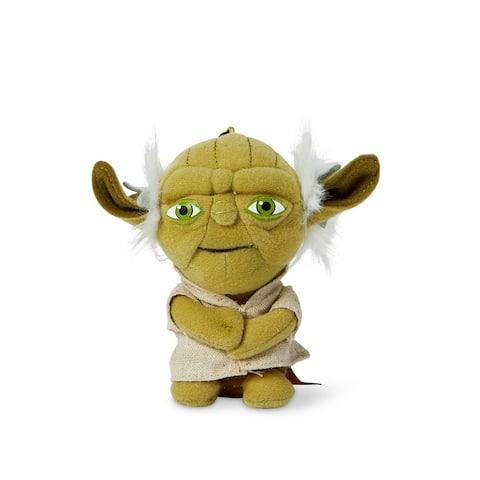 "Star Wars Mini 4"" Talking Plush Toy Clip On - Yoda - Multi"