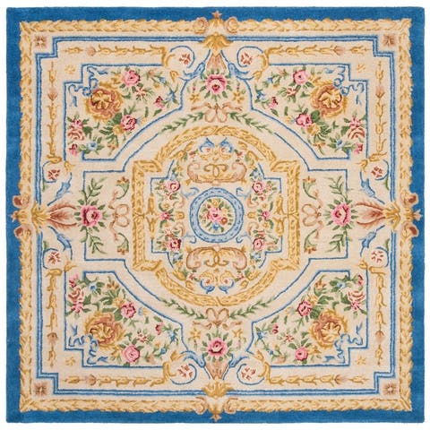 Safavieh Handmade Savonnerie Mireille Traditional Oriental Wool Rug