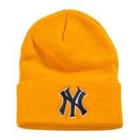 New York Yankees Cuff Beanie, Yellow