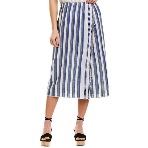 Lemlem Midi Wrap Skirt