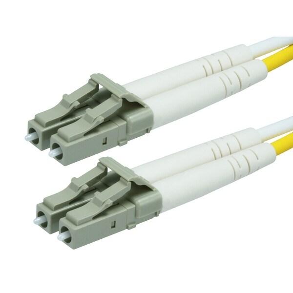Monoprice Fiber Optic Cable, LC/LC, OM2, Multi Mode, Duplex - 20 meter (50/125 Type) - Orange