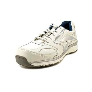 Reebok Senexis W Round Toe Leather Sneakers
