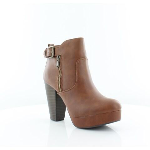 Material Girl Raelyn Women's Boots Cognac