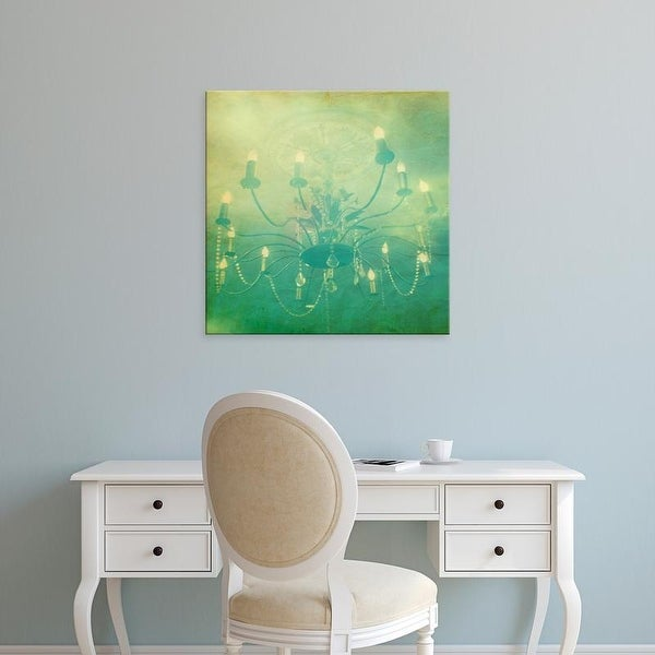 Easy Art Prints Jennifer Jorgensen's 'Fancy I' Premium Canvas Art