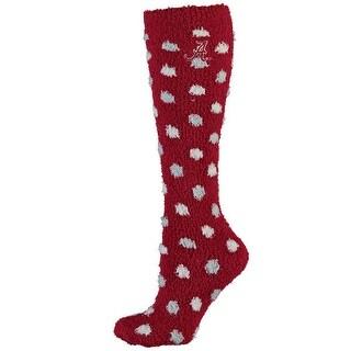 Alabama Crimson Tide Polka Dot Sleep Soft Socks