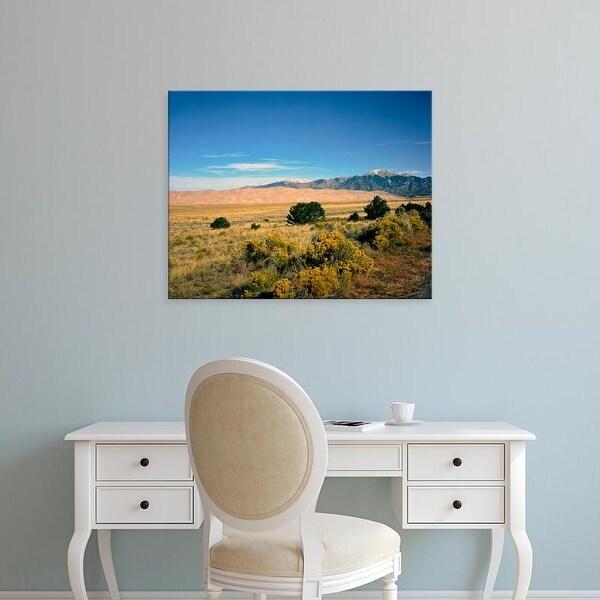 Easy Art Prints Bernard Friel's 'Great Sand Dunes National Park' Premium Canvas Art