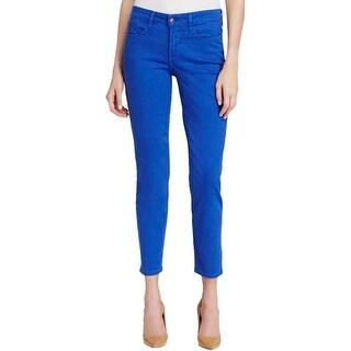 NYDJ Womens Petites Clarissa Ankle Jeans Slimming Lift Tuck