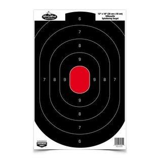 Caldwell 128034 caldwell 128034 silhouette center mass target 25pk