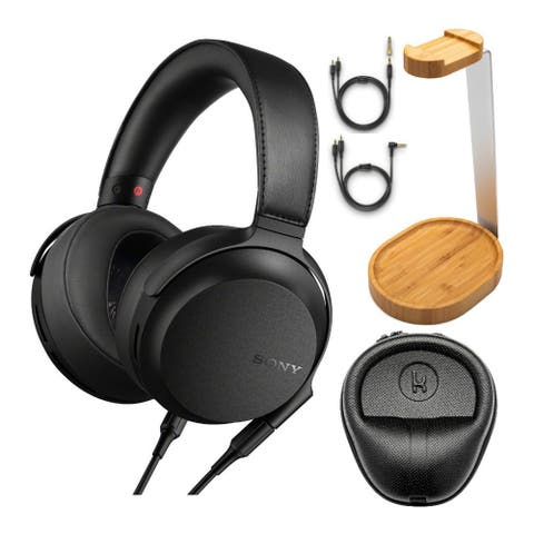 Sony MDR-Z7M2 Hi-Res Stereo Overhead Headphones w/ Case & Stand Bundle