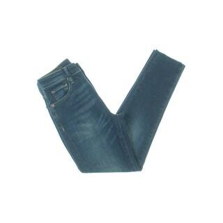 Denim & Supply Ralph Lauren Womens Skinny Jeans Cropped High Rise