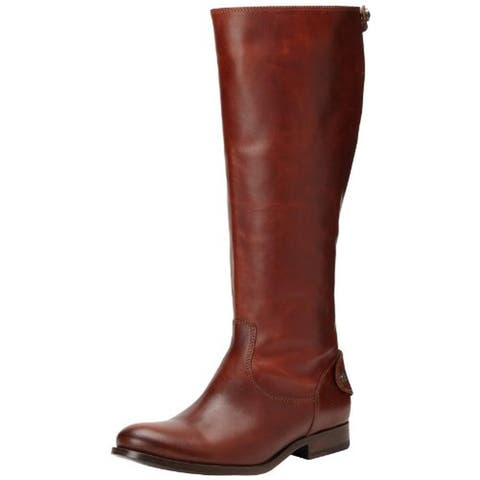 Frye Womens Melissa Riding Boots Leather