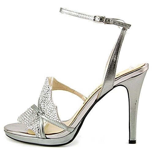 E! Live From The Red Carpet Womens HELENA Open Toe Formal - 6.5