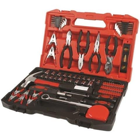 Olympia Tools 80-789 SAE & Metric Combination Tool Set, 90 Piece