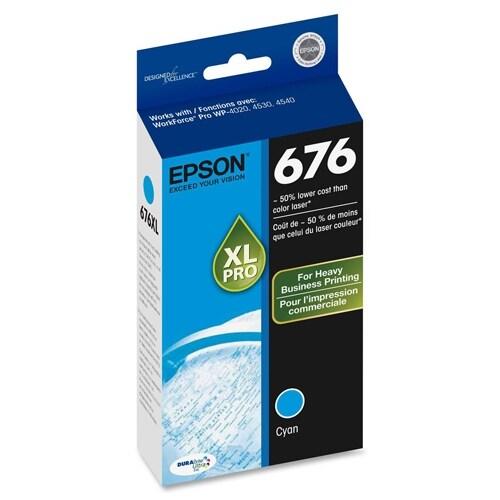 Epson T676XL220M INK WORKFORCE PRO SERIES CYAN
