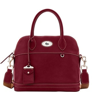 Dooney & Bourke Florentine Toscana Domed Satchel (Introduced by Dooney & Bourke at $448 in Aug 2017) - Bordeaux