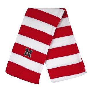 University of Nebraska Knit Rugby Scarf