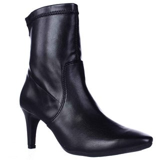 Aerosoles Excess Pointed Toe Dress High Ankle Boots - Black