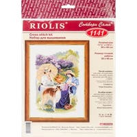 """The Russian Country Estate Counted Cross Stitch Kit-11.75""""X15.75"""" 14 Count"""
