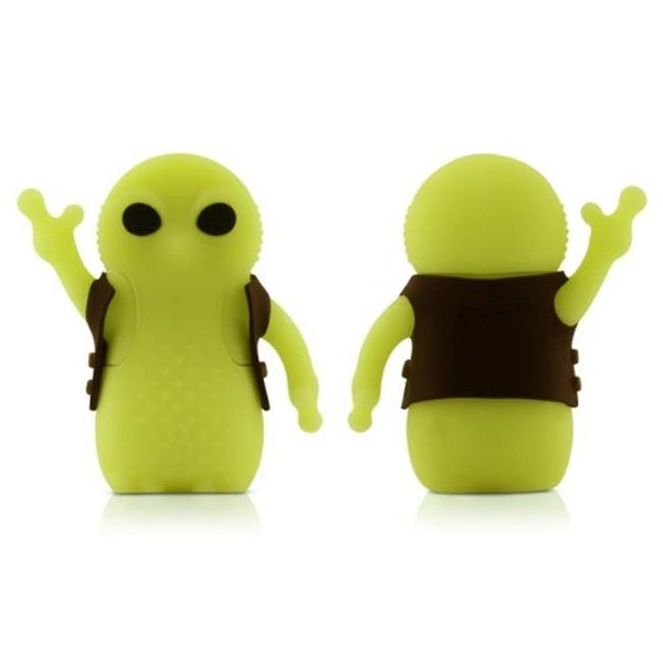 Bone Collection D11021LY 8 GB Alien USB Drive, Luminescant Yellow