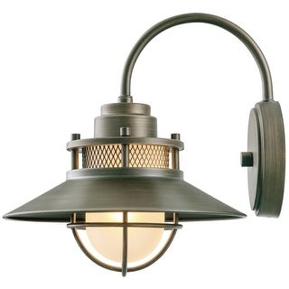 """Globe Electric 44097 Liam Single Light 11"""" High Outdoor Wall Sconce"""