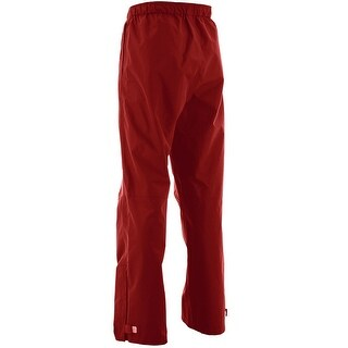 Huk Men's Performance Packable X-Large Red Packable Fishing Rain Pants