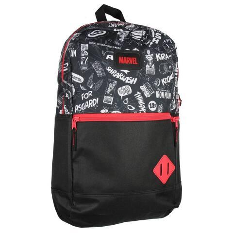 Marvel Avengers Classic Comic Travel School Bag Laptop Backpack