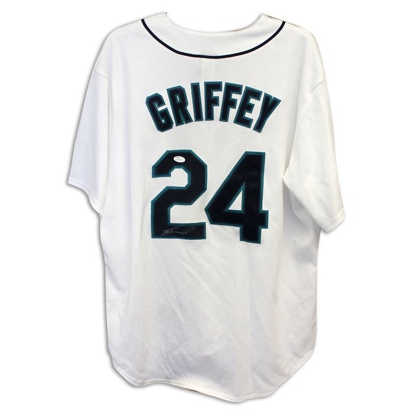 ea0b0bae657 Shop Ken Griffey Jr. Seattle Mariners Autographed White Jersey - Free  Shipping Today - Overstock - 13069585
