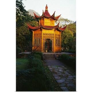 """""""Pagoda, Huangshan, China."""" Poster Print"""