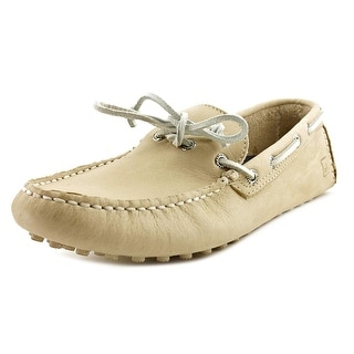 Sperry Top Sider Chukka Cyclone Men Moc Toe Leather Ivory Boat Shoe
