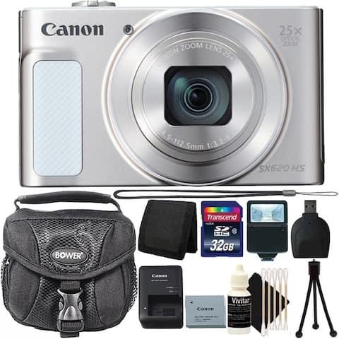 Canon PowerShot SX620 Digital Camera Wi-Fi & NFC Enabled Bundle