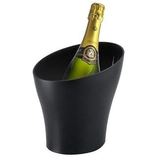Prodyne AB29B Slope Textured Wine Bucket, Black