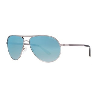TOM FORD Aviator Marko TF144 Unisex 14X Light Ruthenium Sky Blue Mirror Sunglasses - 58mm-13mm-140mm