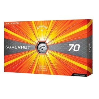 Callaway 2017 Superhot 70 Golf Balls (Pack Of 15)-White