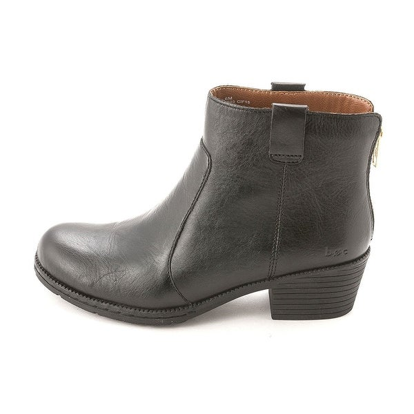 B.O.C Womens Cardenas Leather Closed Toe Ankle Fashion Boots