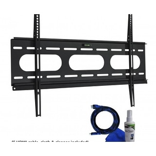 Tilt mount Kit with cable and cloth
