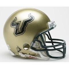South Florida Bulls Riddell Mini Football Helmet