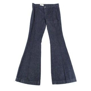 Polo Ralph Lauren NEW Indigo Blue Women's Size 27X34 Flare Jeans