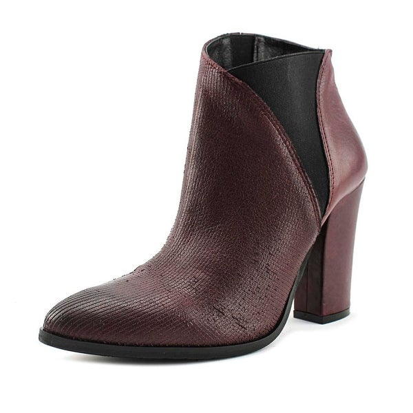 Charles David Charla Women Pointed Toe Leather Bootie