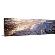 Premium Thick-Wrap Canvas entitled Waves FL