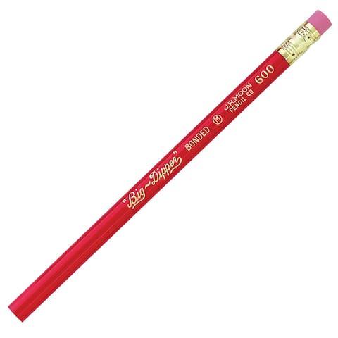 Moon products big-dipper pencils with eraser dz 600t