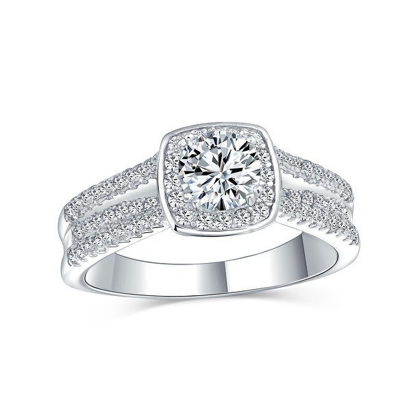 2CT Round Solitaire AAA CZ Engagement Ring 925 Sterling Silver. Opens flyout.