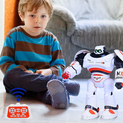 """Remote Control Robot Toy Programmable Robot for Kids - 11"""" X 5"""" X 13"""""""