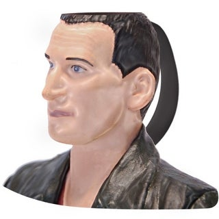 Doctor Who 9th Doctor Christopher Eccleston Ceramic 3D Toby Jug Mug - Multi